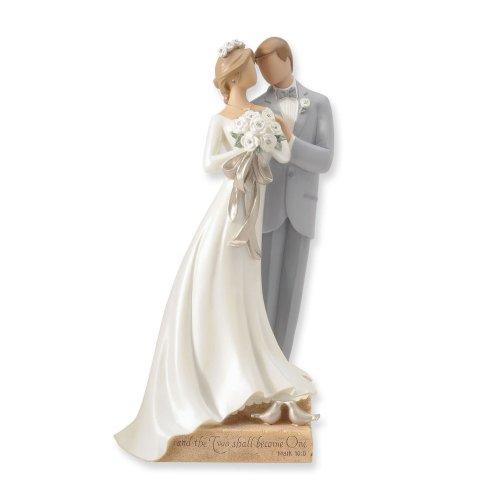 Amazon Enesco Legacy Of Love Wedding Collection Couple Figurine Home Kitchen