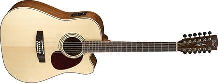 Cort mr710 F12 eléctrico de guitarra acústica dreadnought cutaway ...