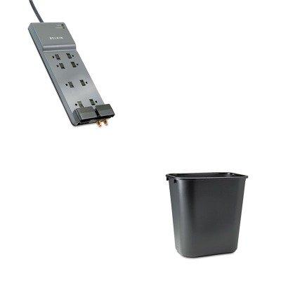 belkin office. KITBLKBE10823012RCP295600BK - Value Kit Belkin Office Series SurgeMaster  Gray Surge Protector (BLKBE10823012) And Belkin Office