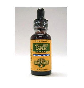 Herb Pharm Mullein Garlic Compound 1 oz