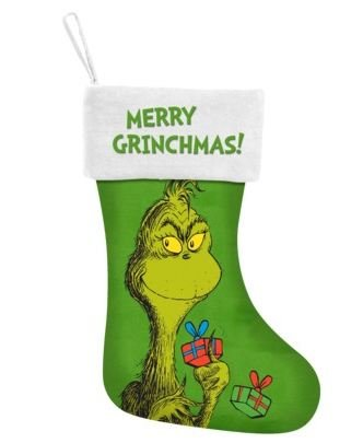 the grinch merry grinchmas holiday stockingthe grinch christmas stocking