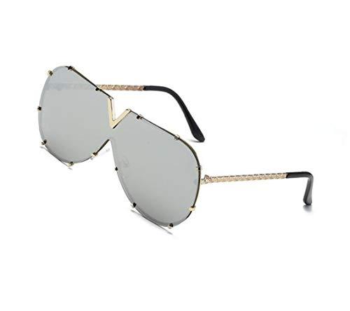de pesca la de conducción de para para Huyizhi aire protección de libre UV400 hombres las la de la la moda de Mujeres viajar sol sol gafas Guay de al Golden Gafas los OOqXEZ