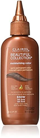 Clairol Professional Beautiful Collection Semi-permanent Hair Color, 14k Gold ()