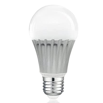Sunsun Lighting A19 Led Light Bulb 9 5w 60w 800lm Warm Soft White 3000k Dimmable