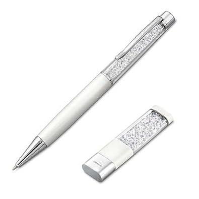 4af4062dadc3 Swarovski Crystal White Pen and 4GB USB Memory Stick Set 1148300   Amazon.co.uk  Jewellery