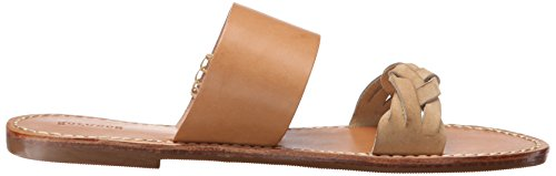 Slide Sandal Soludos Women's Acorn Flat Braided Brown Sandal TUZnFwn