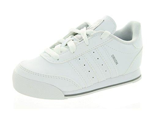 Adidas Toddlers Orion 2 CM I Originals Runwht/Runwht/Runwht Casual Shoe 8 Infants US