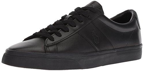 Polo Ralph Sayer Sneaker Lauren Black black Men wnqva51Oqx
