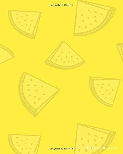 """Read Online Bullet Journal Design: Dotted Notebook 8""""x 10"""" Lemon Cover: Dot Grid Journal, Design Book, Planner, Work Book, Sketch Book, Math Book, 5mm Dots ... ... (Bullet Journal Dotted Notebook) (Volume 16) ebook"""