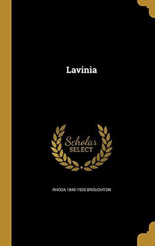 book cover of Lavinia