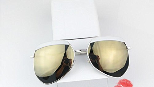 Grandes conducción Hembra Enmarcado Ronda Sol de polarizado de par yurta y Cristales TAIYANGJ Gafas Masculina 67wqaRIRU