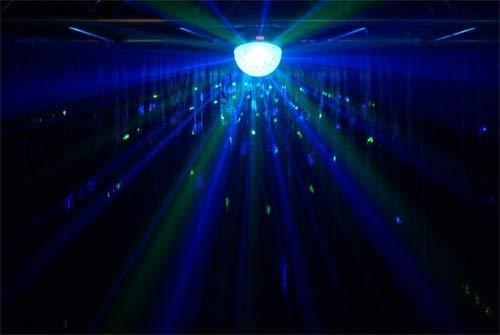 Blizzard Lighting Snowball 4 X 3 Watt 4 Color Mirror Ball Type Effect