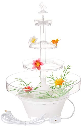 Lighted Plastic Water Fountain for Weddings, Garden, Home, Office, or Cake Centerpiece - Wedding Cakes Fountains