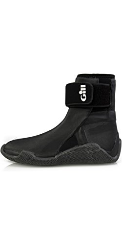 Gill Sailing Boots - Gill 2018 Edge 4mm Neoprene Boots Black 961 Boot/Shoe Size UK - UK Size 14