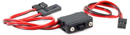 Hobbico Switch (Hitec RCD 57215S Switch Harness w/Chrg Conn Universal)