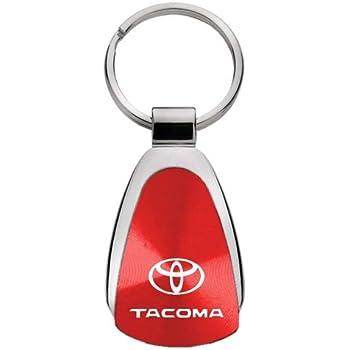 Toyota Tacoma Black Tear Drop Key Chain