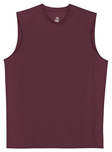 Badger Sportswear B-Dry Sleeveless Athletic Performance T-Shirt, Large, ()