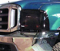 Wade 72-36258 Smoke Tint Light Guard Headlight Cover - Pair