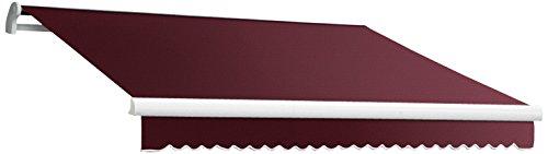 Awntech 18-Feet MAUI EXE Model Manual Retractable Awning, 18-Feet Wide by 10-Feet Depth, (18' Fabric Window Awning)