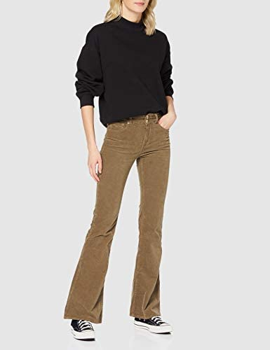 Replay Newluz Flare Jeans, 121 Beige, 3232 Femme