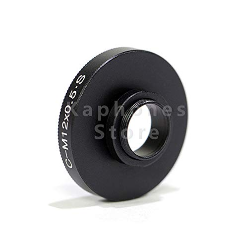 FidgetFidget Camera Board Lens Suit for CS or C Mount CCTV CTV to M12 X 0.5
