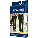 Sigvaris 500 Natural Rubber 30-40 mmHg Open Toe Unisex Thigh High Sock without Grip-Top Size: M2