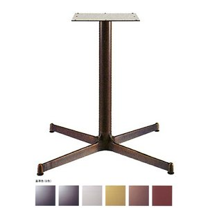 e-kanamono テーブル脚 SBL2900 ベース640x640 パイプ60.5φ 受座300x300 アルミジービー/塗装パイプ AJ付 高さ700mmまで ゴールドメタリック B012CF1F2W ゴールドメタリック ゴールドメタリック