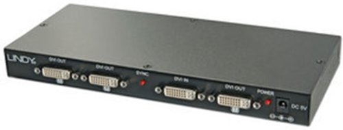 38108 DVI Video Splitter, 8 Port Distribution Amplifier (8 Port Multi Channel)