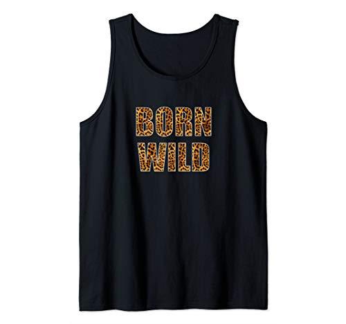 Born Wild Cheetah Spots Animal Prints  Tank Top