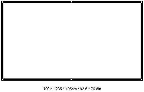 Amazon.com: Yoidesu - Pantalla de proyección para proyector ...