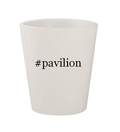 Price comparison product image #pavilion - Ceramic White Hashtag 1.5oz Shot Glass