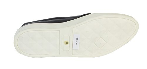 Marina Rinaldi Womens Lauro Slip on Sneakers, Black, US 9/IT 39