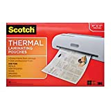 Office Products : Scotch Thermal Laminating Pouches, 11.45 x 17.48-Inches, 25-Pouches (TP3856-25)