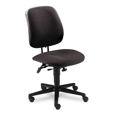 HON 7707AB12T 7700 Series Swivel and Tilt Task Chair, Asynchronous Control, Gray Olefin (Seating 7700 Series)