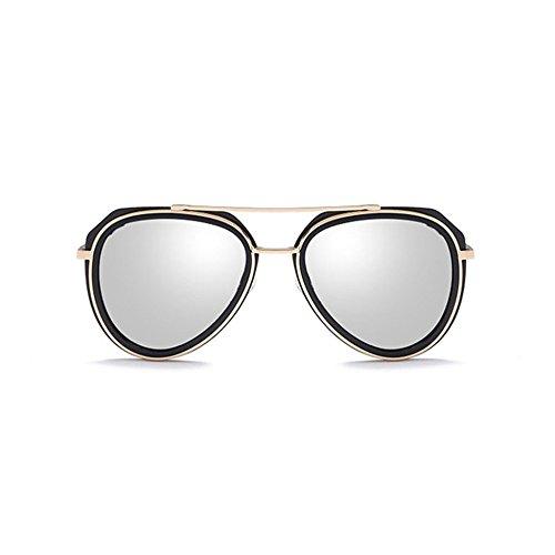 Aoligei Vrai film couleur Chao Men et les femmes du même type de lunettes de soleil lunettes de soleil polarisées autour des lunettes de soleil actuelles Elr31bnk2