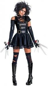 [LanLan Sexy Edward Scissorhands Cosplay Halloween Costume] (Scissorhand Edward Costume)