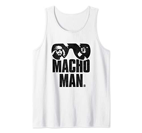 Randy Savage Macho Man Sun Glasses Tank Top