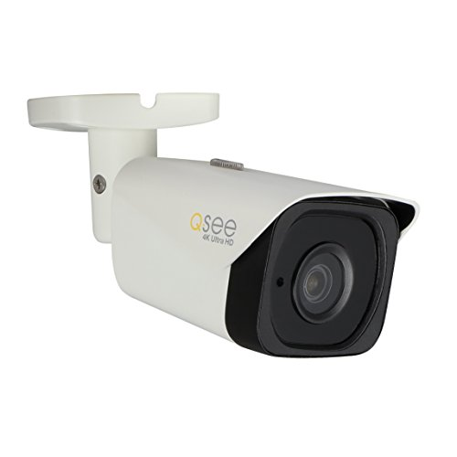 Q-See QCN8090B, 4K High Defition IP (PoE), Bullet Security Camera