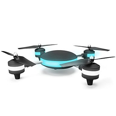 W&P 4CH 2.4G con 2,0 MP HD Camera2.0MP WIFI 3D Roll Quadcopter Drone LED plano modelo juguetes RC Quadcopter modo , black
