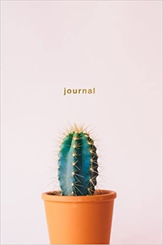 Journal: Cactus Notebook Wide-Ruled 175-Pages (Cactus
