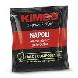 Kimbo Napoli Espresso ESE Compostable Coffee Pods [100/box]