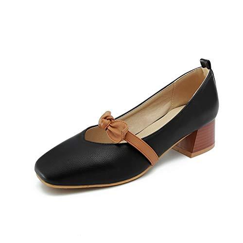 BalaMasa Noir Femme Sandales 36 APL10507 Compensées 5 Noir UqvrWUwC