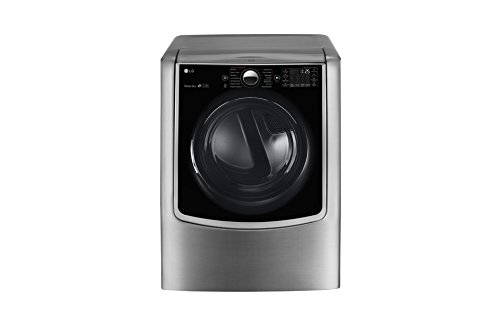 LG DLEX5000V TurboSteam 7.4 Cu. Ft. Graphite Steel Stackable With Steam Cycle Electric Dryer – Energy Star