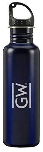 LXG, Inc. George Washington University - 24-Ounce Sport Water Bottle - Blue