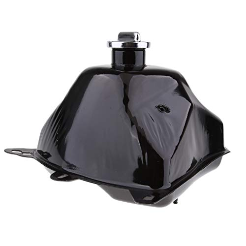 Flameer Black Metal Fuel Gas Tank Cap Petcock for Coolster 110cc 125cc 4 Wheeler Quad ()
