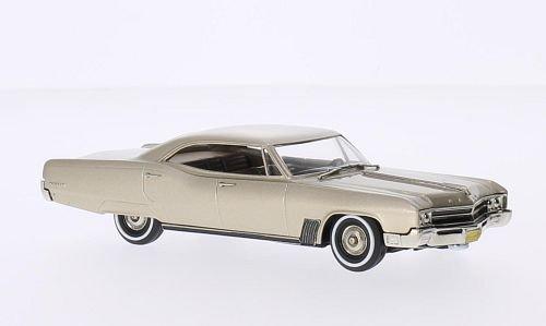 Buick Wildcat 4-Door Hardtop Sedan, metallic-beige, 1967, Model Car, Ready-made, Brooklin 1:43 (Wildcat Buick 1967)
