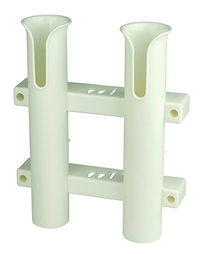 (CE Smith Tournament 2 Rod Rack, White-Replacement Parts and Accessories for Tournament Fishing, Rod Fishing, Deep Sea Fishing and Trolling)