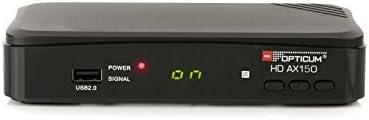 Opticum Digitale 2 Teilnehmer Satelliten Komplettanlage Hd Ax 150 Hdtv Receiver Twin Lnb Qa 60 Cm Antenne Stahl Anthrazit Heimkino Tv Video