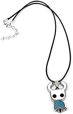 Llavero Color : Necklace Detazhi Act Hollow Juego Knight Protagonista Collar de aleaci/ón de Zinc Llavero Colgante Hombres Mujeres Moda Ventiladores joyer/ía Charms Regalo Accesorios