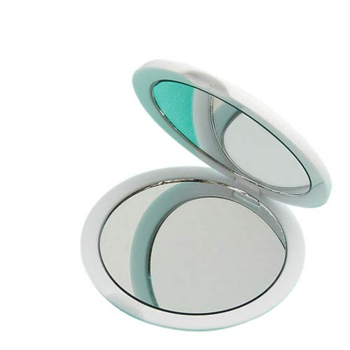FashionCraft Magnifying Compact Mirror, Handheld Travel Mirror with 5x Magnification and 1x True View, Perfect for Purse, Pocket and Travel, White (60 Pack)